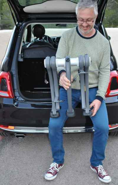 Ford C Max bike rack easy to fit