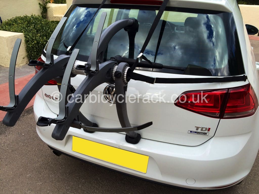 vw golf estate bike rack - modern arc based rack for 2 or 3 bikes