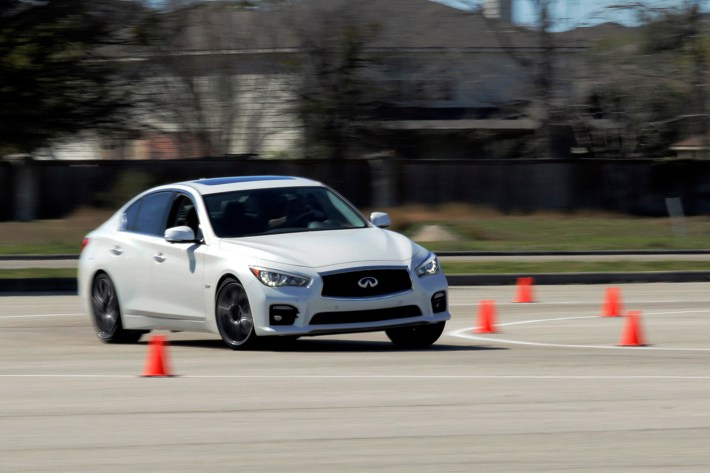 2016 Infiniti Q50 Red Sport 400 Lead Image Dual Layer