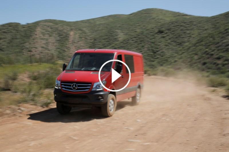 Mercedes-Benz Spinter Crew Van 4x4 Featured CB