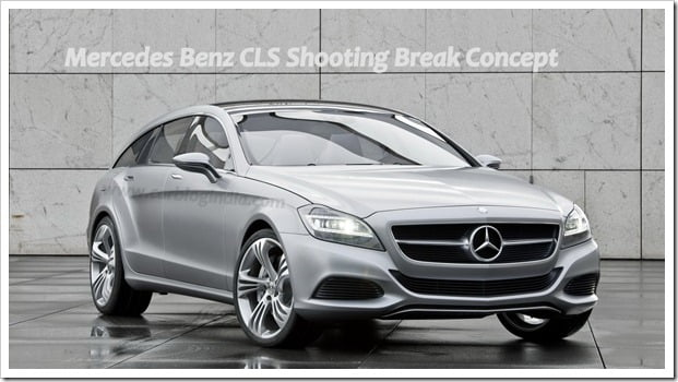 Mercedes Benz CLS Shooting Break Concept