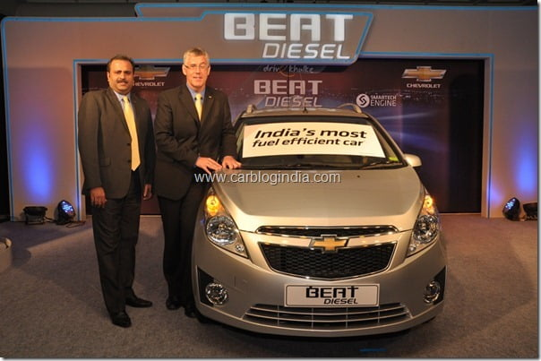 Chevrolet Beat Diesel Launched