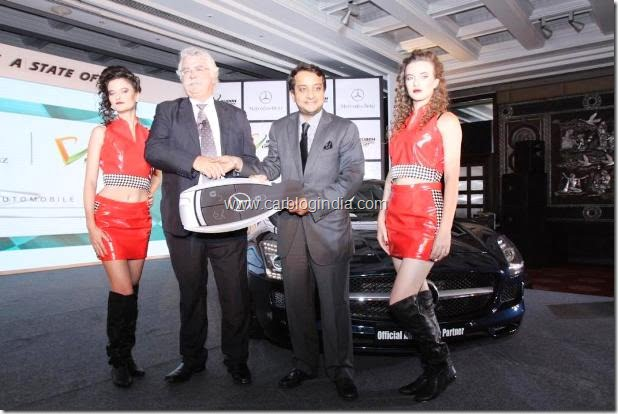 Mercedes India CEO with JPSI CEO