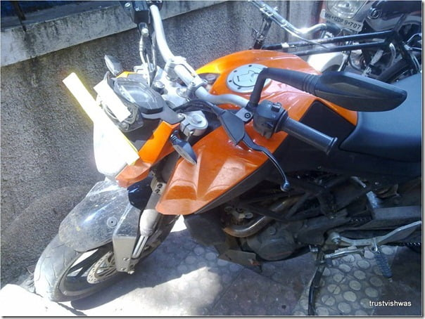 KTM Duke 200 Spy Pictures India (4)