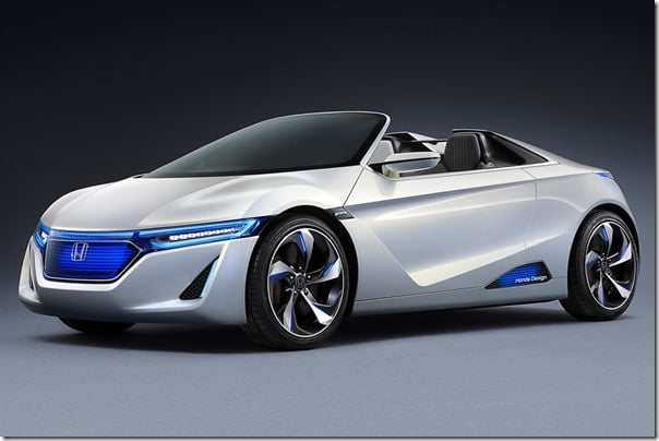 2012 Honda EV-Ster Electric Car Concept