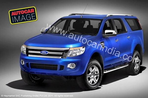 Ford Endeavour 2012 suv