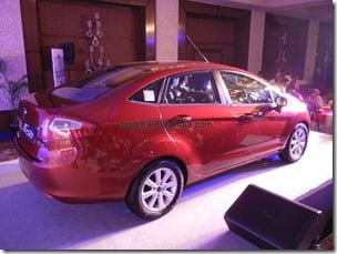 Ford Fiesta Automatic Sedan India