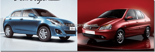 Maruti Swift Dzire 2012 Vs Tata Indigo eCS