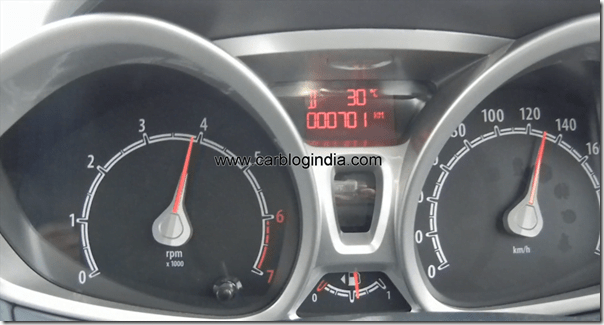 Ford Fiesta 2012 PoweShift Automatic Track Test Drive (6)