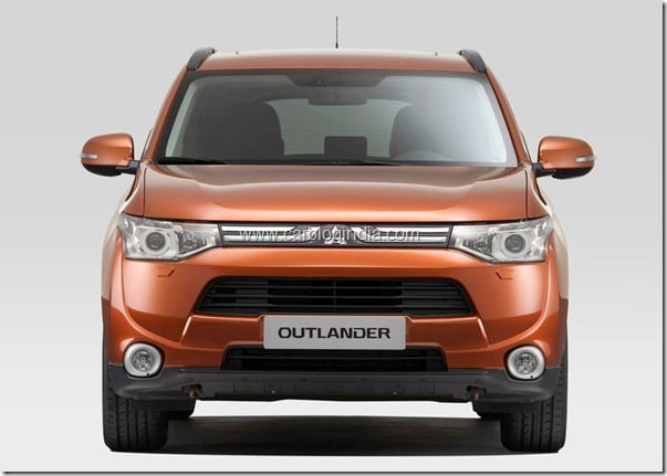 Mitsubishi Outlander 2013 New Model Official Picture (1)