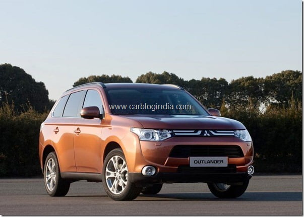 Mitsubishi Outlander 2013 New Model Official Picture (5)