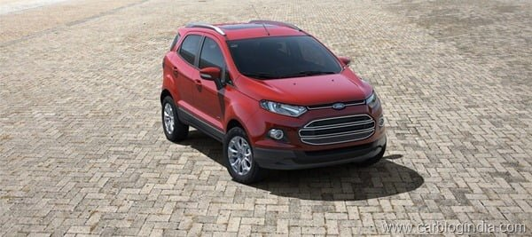 Ford EcoSport 2012 Production Version Official Pictures (4)