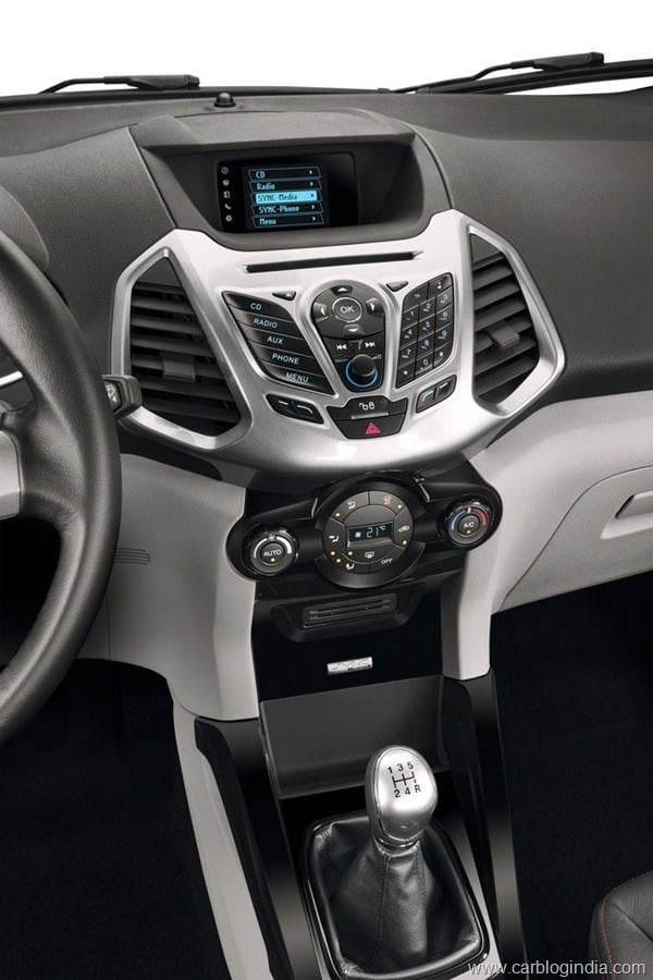 Ford EcoSport 2012 Production Version Official Pictures (6)