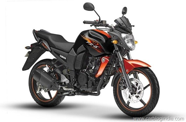 Yamaha FZ-S 2012 Black Orange New Colour