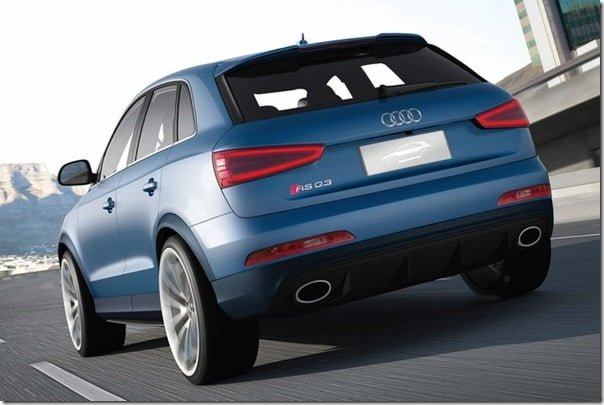 Audi Q3 RS Sports SUV Rear