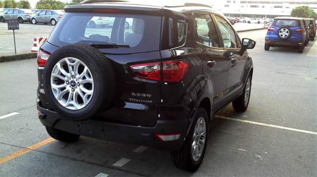 Ford EcoSport Spied In China
