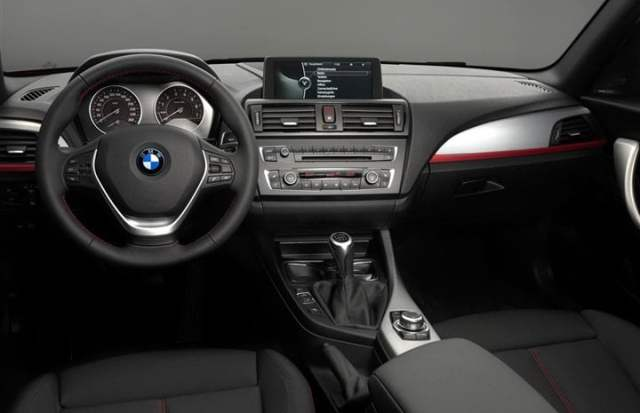 2012 BMW 114d Diesel Entry Level interior