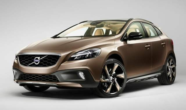 2012 Volvo V40 Cross Country hatchback front