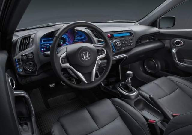 2013 Honda CR-Z interior