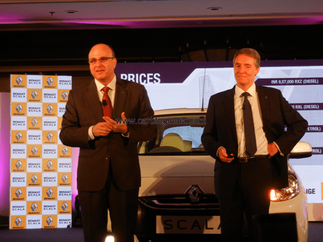 Renault India President At Scala Launch