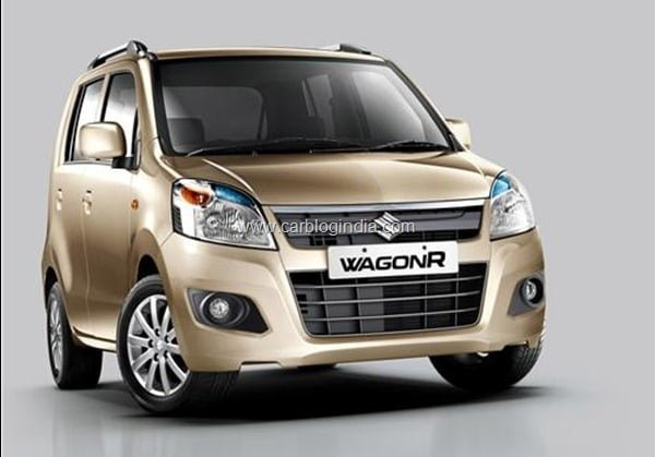 2013 Maruti Wagon R Front Official Picture