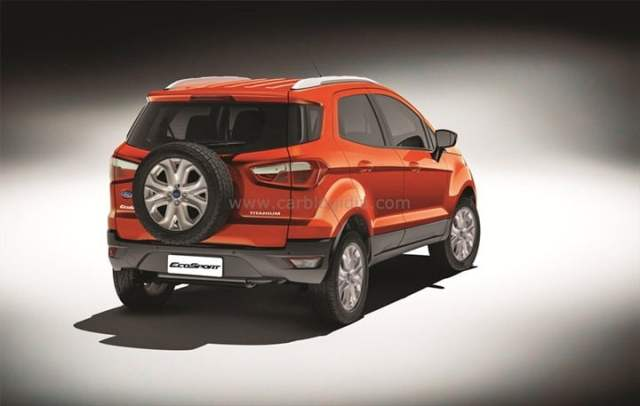 Ford EcoSport India Official Pictures (2)