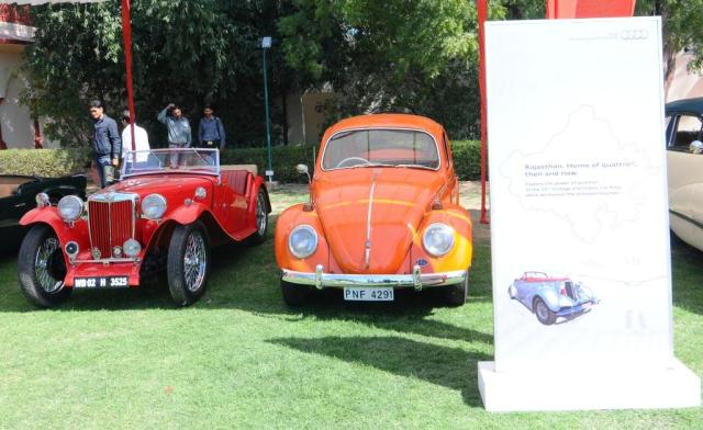Vintage Cars on display at 15th Vintage and Classic Car Rally, Jaipur