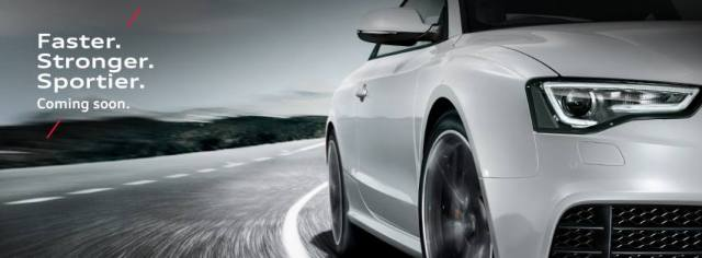 Audi India RS5 Teaser