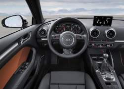 2014 Audi A3 Interior Front Driver View
