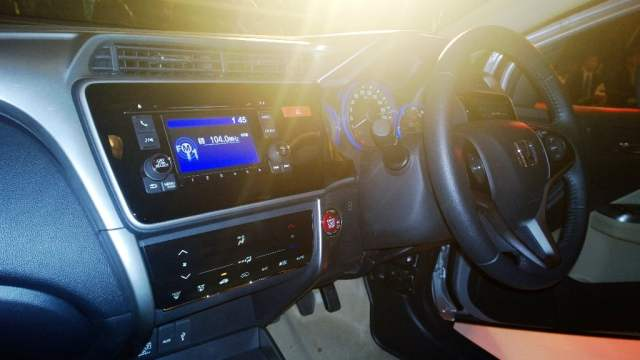 2014 Honda City Front Dashboard