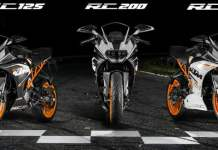 2014 KTM RC Series Featured Image