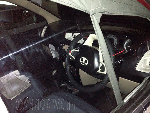 2014 Tata Vista Interior Spy Shot