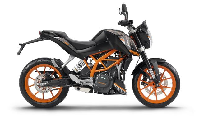 KTM 390 Duke Midnight Black 2