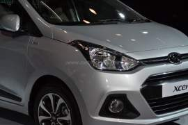 2014 Hyundai Xcent Front Right Zoomed In