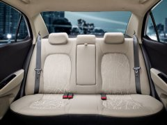 2014 Hyundai Xcent Interior Rear Seats