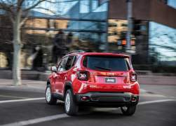 2015 Jeep Renegade Rear Left