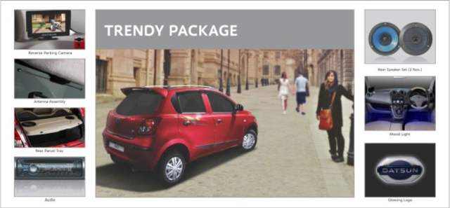 Datsun Go Accessories Package Trendy