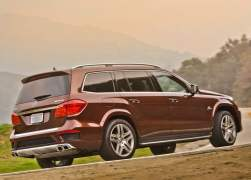 2013 Mercedes-Benz GL63 AMG Rear Right Quarter
