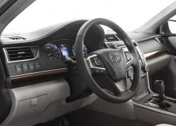 2015 Toyota Camry Interior Front Cabin Driver Side View