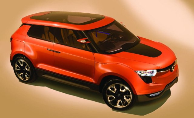 Mahindra S102 will be on the lines of SsangYong X100.
