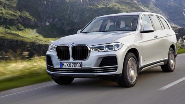 upcoming suvs in india 2017 2018 bmw x7 images front angle rendering