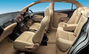 Honda Amaze Interior Cabin