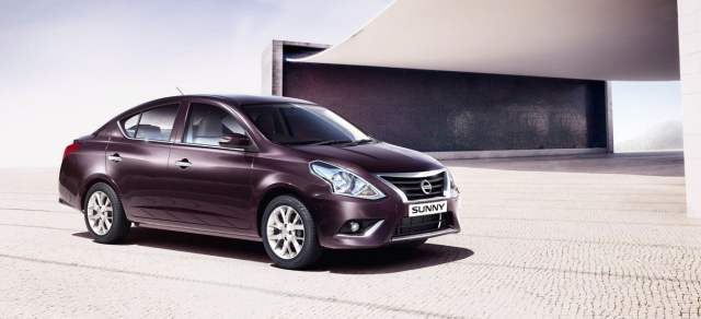 Nissan Sunny Front Right Quarter