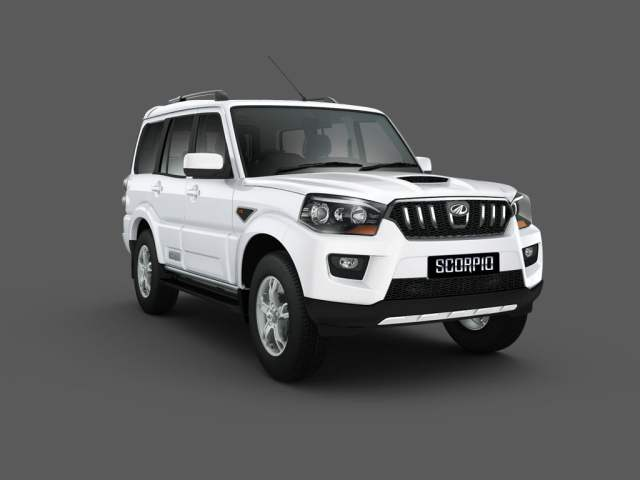 Mahindra Scorpio Facelift Front Right Quarter