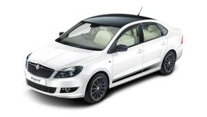 Skoda Rapid Facelift Front Left Quarter Top Angle