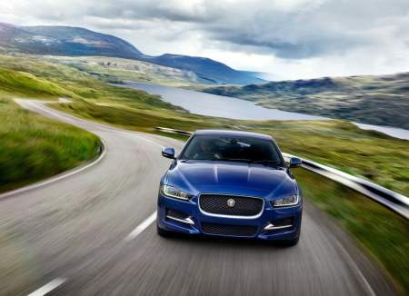 Jaguar XE India Launch Photos Front