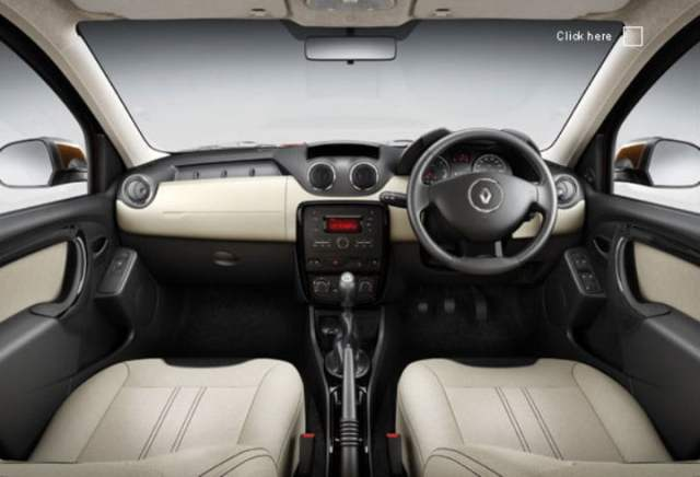 Renault Duster Interior Dashboard1