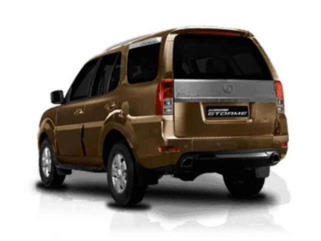 Tata Safari Storme Left Rear Quarter