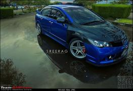 modified-honda-civic-in-kerela-blue-front-angle-3