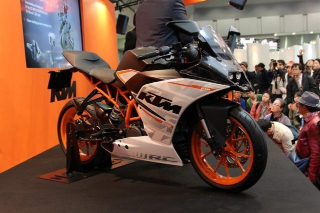 ktm rc 250 india images front angle